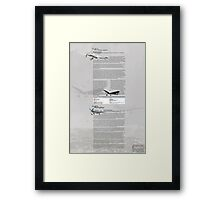WW2 Warbirds part4 Framed Print