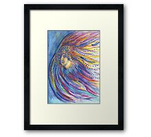 Changing Woman Framed Print
