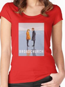 broadchurch Women's Fitted Scoop T-Shirt