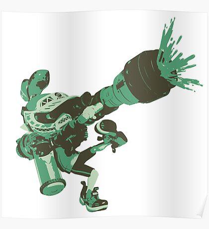 Minimalist Inkling Boy 3 Poster