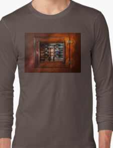 Steampunk - Electrical - The fuse panel Long Sleeve T-Shirt