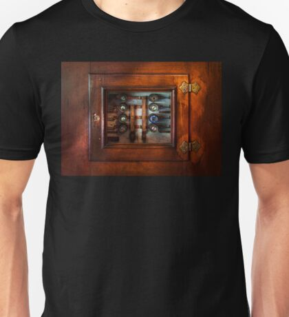 Steampunk - Electrical - The fuse panel Unisex T-Shirt