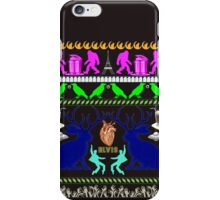 Eerie, Indiana ugly Christmas sweater iPhone Case/Skin