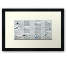 WW2 Warbirds part10 Framed Print