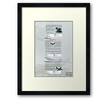 WW2 Warbirds part12 Framed Print