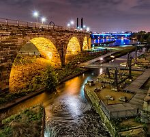 Stone Arch at Mill Ruins by JimGuy