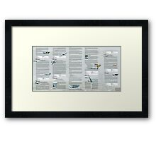 WW2 Warbirds part15 Framed Print