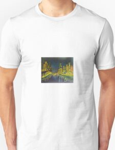 Southbank at Night Melbourne Vic Australia Unisex T-Shirt