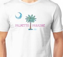Palmetto Paradise by Jan Marvin Unisex T-Shirt