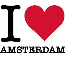 I love Amsterdam Photographic Print
