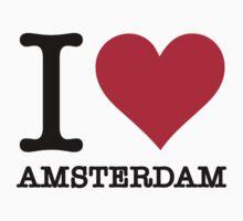 I love Amsterdam by artpolitic