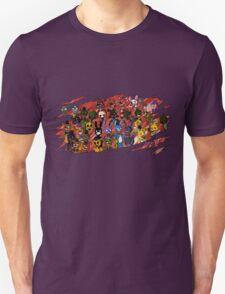 FNaF- All Animatronics Rip Design T-Shirt
