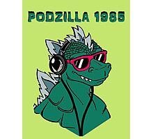 Retro Podzilla 1985 in Color Photographic Print