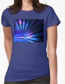 Pluto Rays Womens Fitted T-Shirt