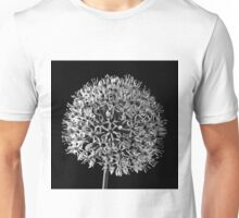 White Allium Unisex T-Shirt