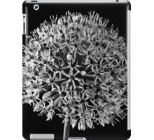 White Allium iPad Case/Skin