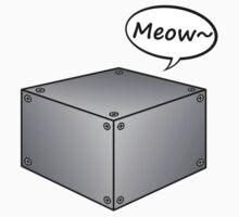 Schrodinger Cat - Steel box Baby Tee