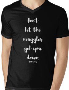 The Muggles Mens V-Neck T-Shirt