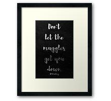 The Muggles Framed Print