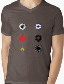 Star Wars Factions Mens V-Neck T-Shirt