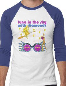 Luna In The Sky - cloud version Men's Baseball ¾ T-Shirt