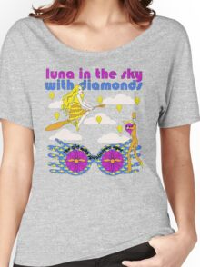 Luna In The Sky - cloud version Women's Relaxed Fit T-Shirt