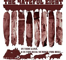 the hateful eight Photographic Print