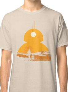 Star Wars The Force Awakens BB8 Poster Classic T-Shirt
