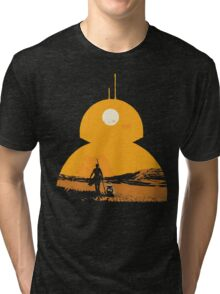 Star Wars The Force Awakens BB8 Poster Tri-blend T-Shirt