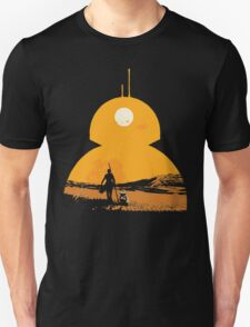 Star Wars The Force Awakens BB8 Poster Unisex T-Shirt