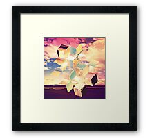 Unravelling Framed Print