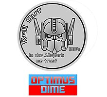 Optimus Dime Photographic Print