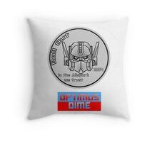 Optimus Dime Throw Pillow