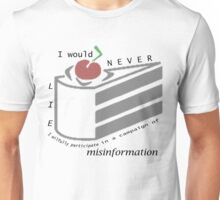 Misinformation Unisex T-Shirt