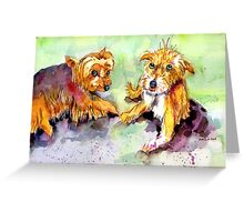 Best Friends Forever. Greeting Card