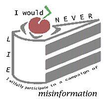 Misinformation Photographic Print