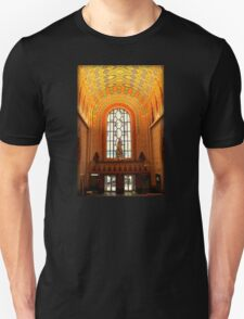 Lobby Of Guardian Building In Detroit At Christmas T-Shirt