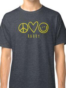 Raury-Peace Love Happiness Classic T-Shirt