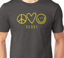 Raury-Peace Love Happiness Unisex T-Shirt