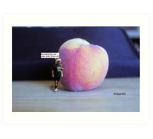 There's Joop and the giant peach!  Anybody seen...... Art Print