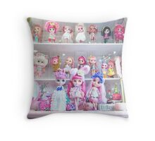 My melody is your melody Throw Pillow