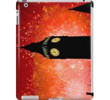 Big Ben - New Years Eve Fireworks 2010 -  2011 - HDR iPad Case/Skin
