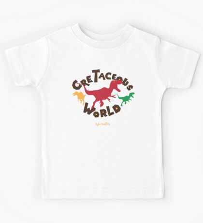 Cretaceous World Kids Tee