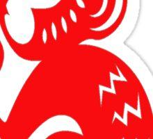 FIRE MONKEY Sticker