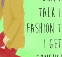 Fashion Terms Sticker