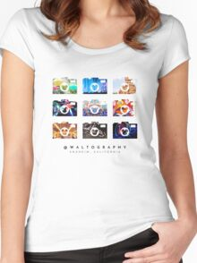 @waltography Women's Fitted Scoop T-Shirt