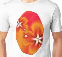 Fleur d'Automne Fractal Unisex T-Shirt