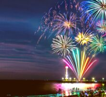 NYE Fireworks 2015 | Brighton Beach Sticker