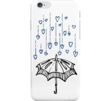 Raining Love! iPhone Case/Skin