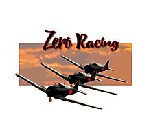 Zero Racing Photographic Print